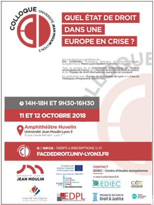 Affiche 11 et 12 octobre 2018