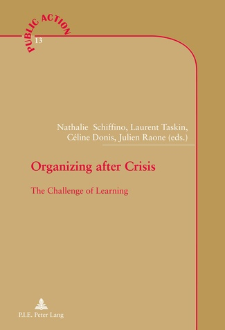couverture chapitre Organizing after crisis: The Challenge of Learning