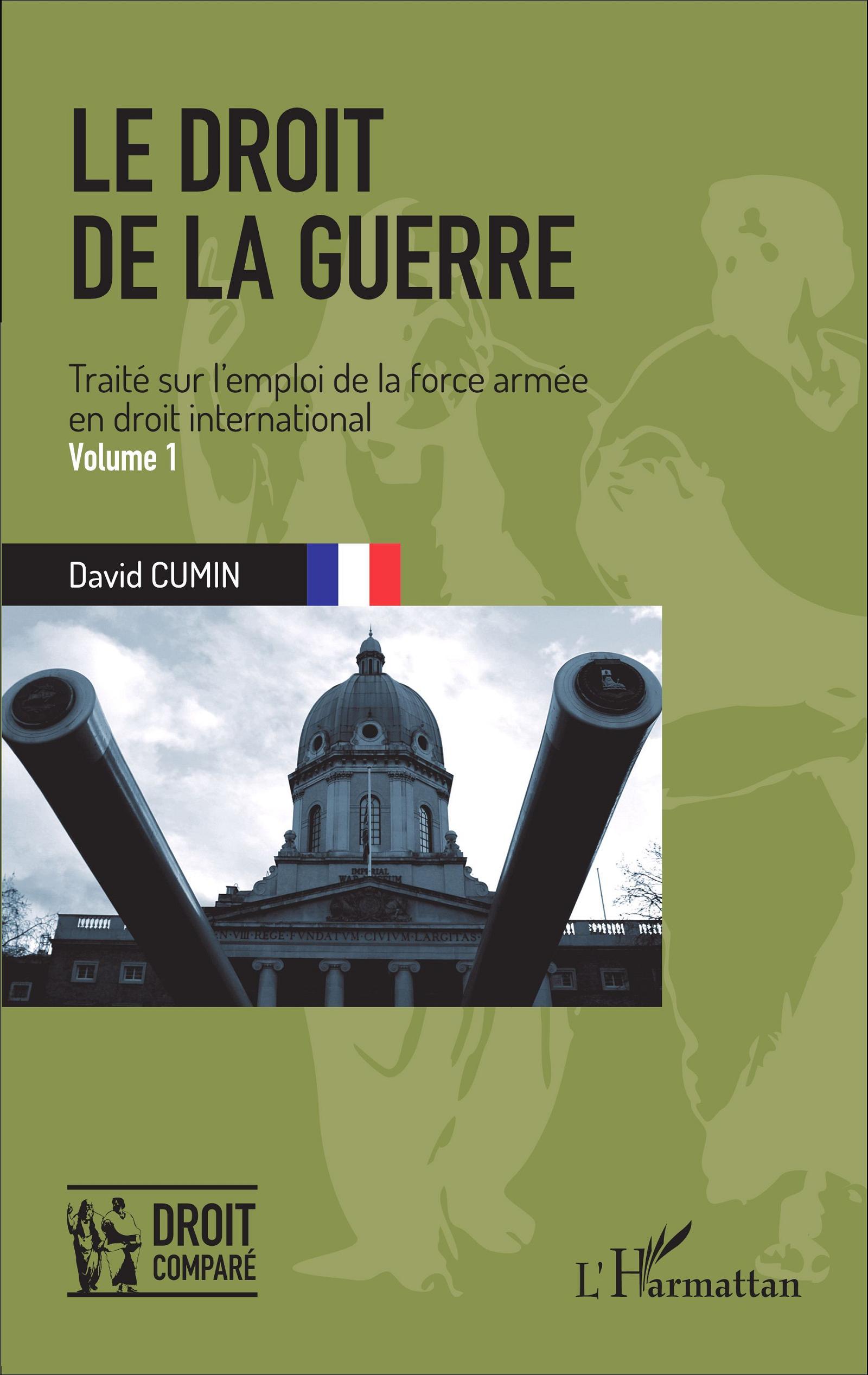 couverture publication le droit de la guerre