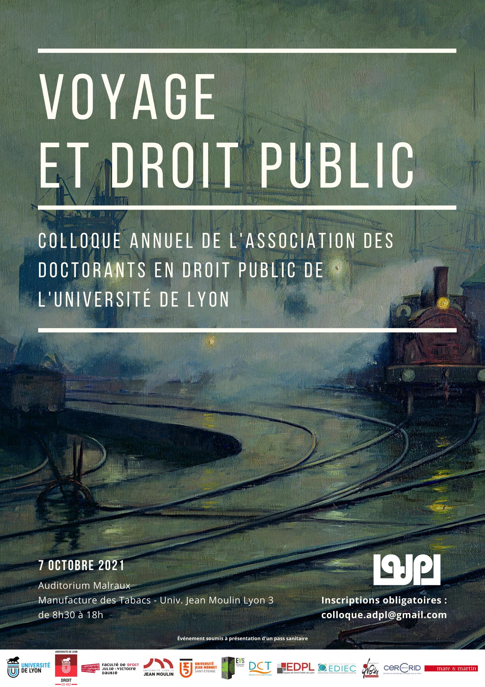 ADPL - Voyage et droit public