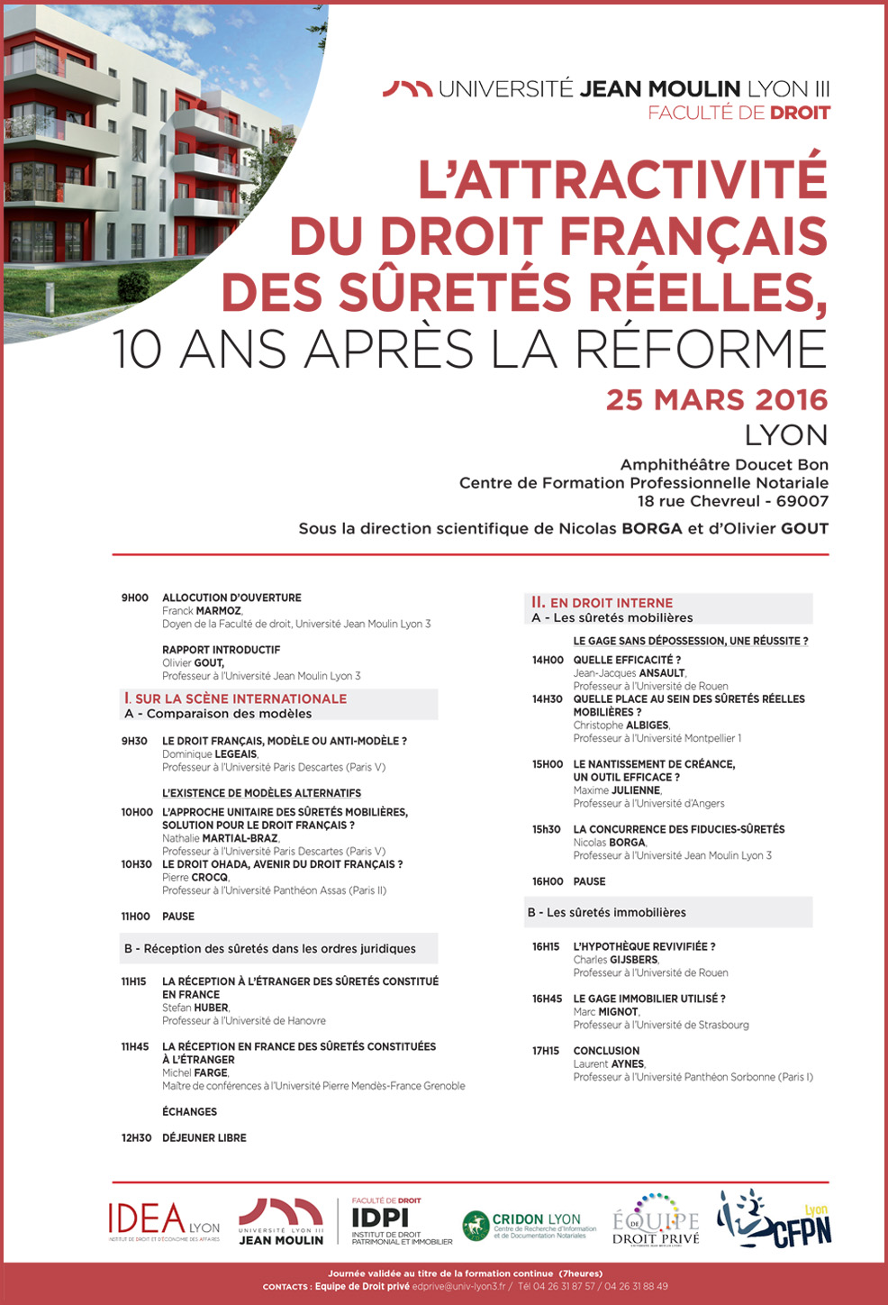 colloque 25 mars 2016