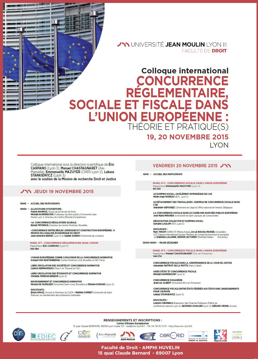 affiche colloque EDIEC