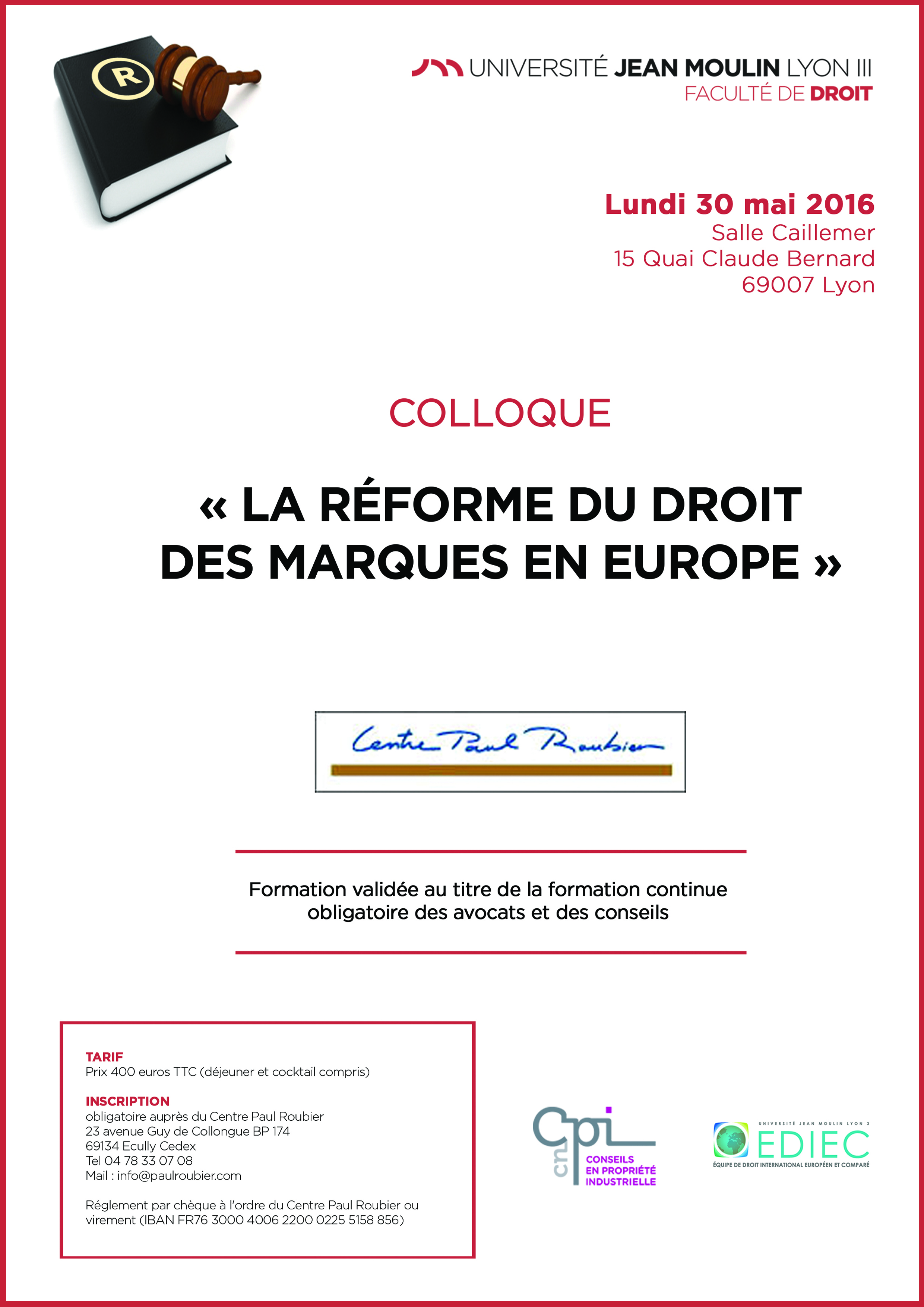 affiche colloque centre paul roubier 30 mai