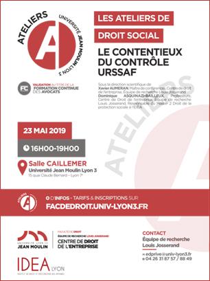 Atelier DRoit Social 2019-20