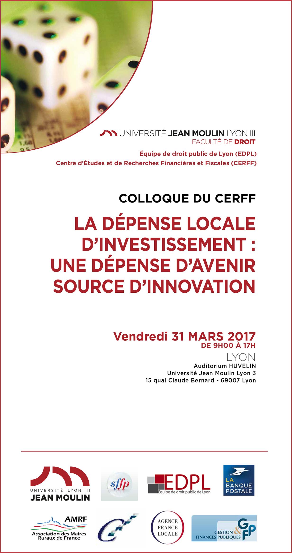 Affiche CERFF 31 mars 2017