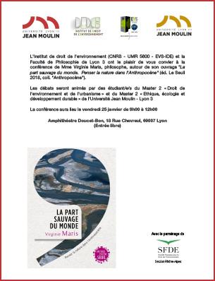 affiche conference 25 janvier 2019