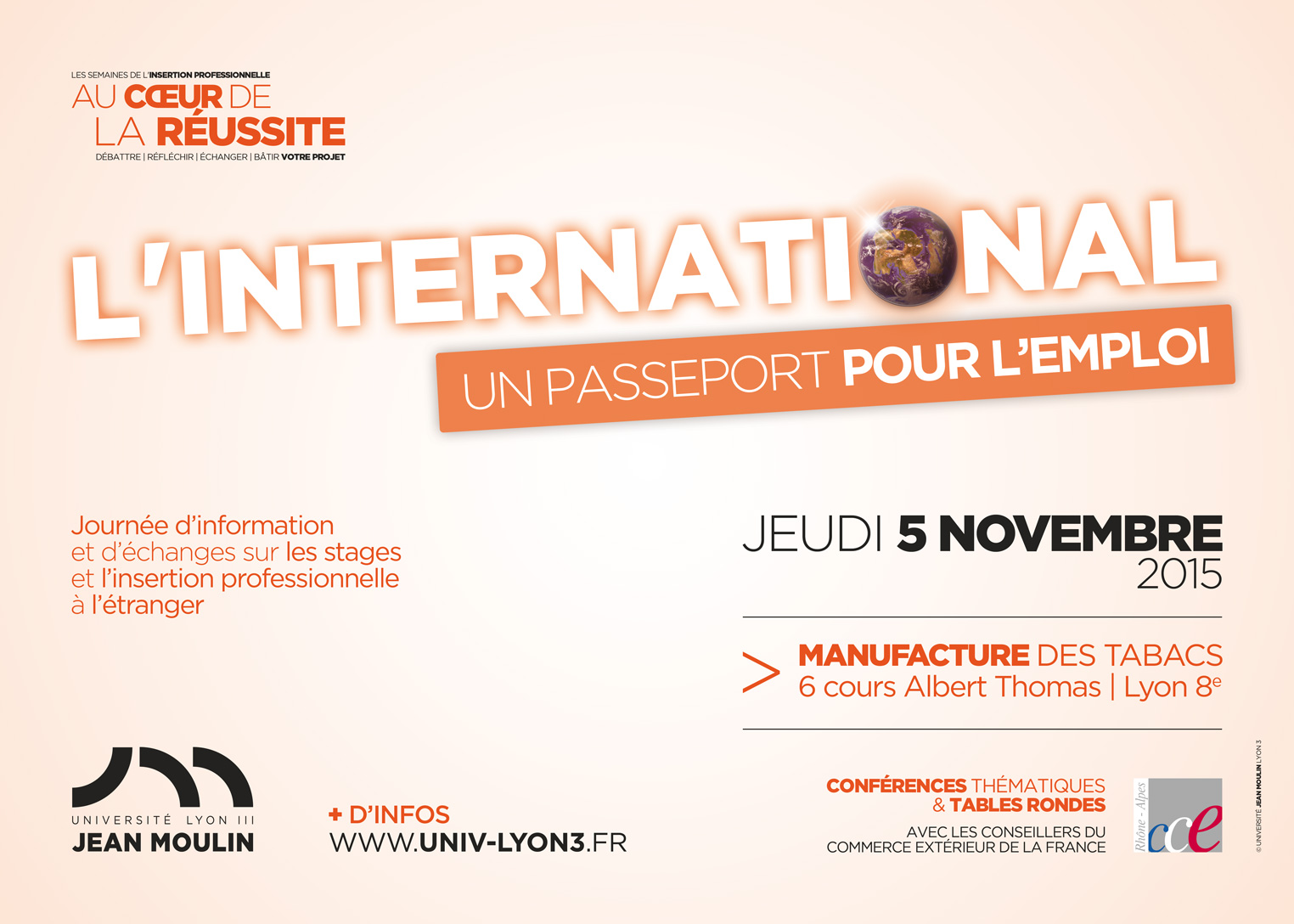 Flyer journée internationale