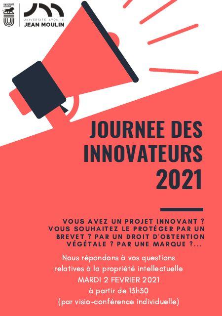 Affiche journée des innovateurs 2021