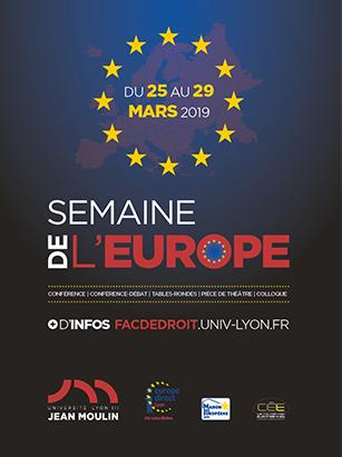 affiche semaine Europe