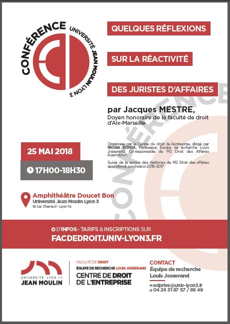 Conférence 25 mai 2018