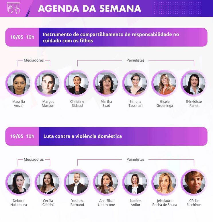 Agenda de la semaine france brésil séminaire