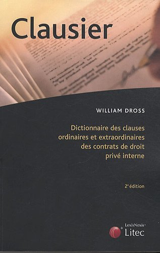 Clausier - William Dross