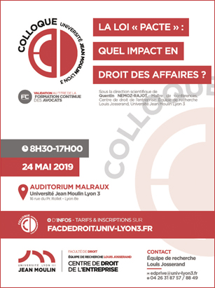Affiche colloque 24 mai