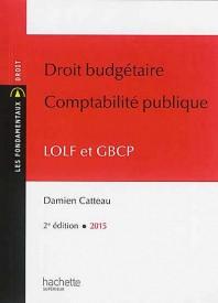 couverture droit budgetaire comptabilité publique