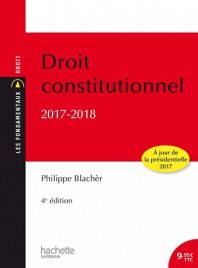 droit constitutionnel 2017-2018