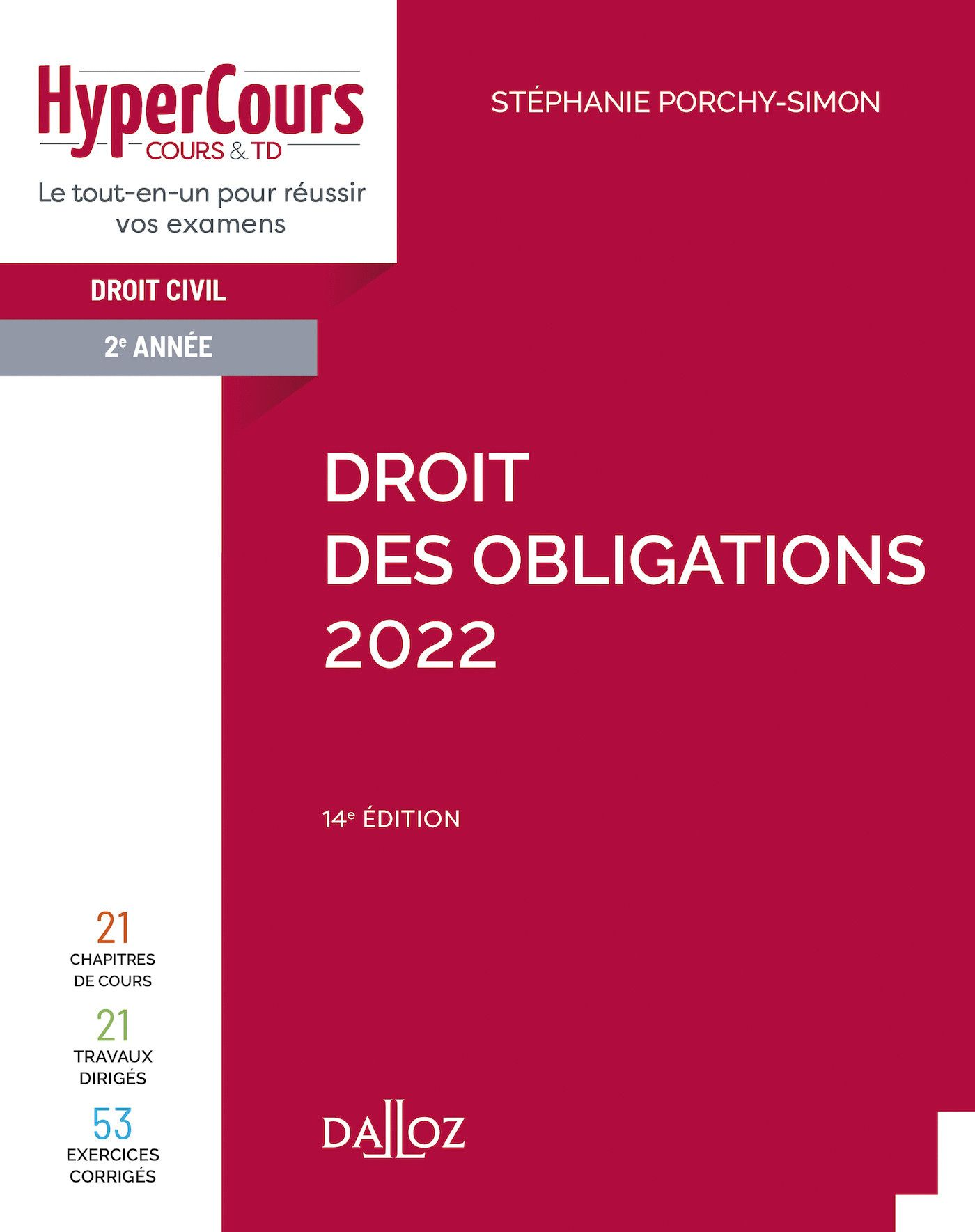 Droit des obligations 2022