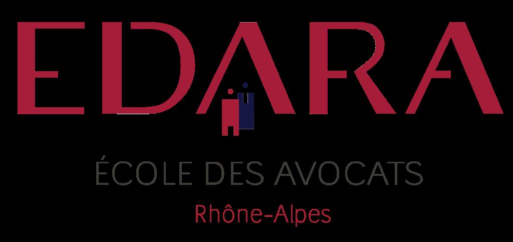 Logo EDARA Ecole des avocats - Rhône Alpes