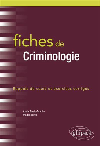 Fiches-de-Criminologie