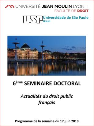 Affiche séminaire Brésil