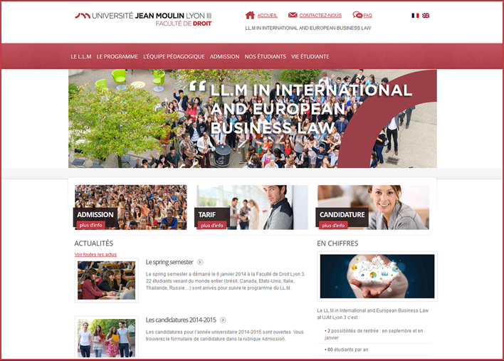 LLM home page site