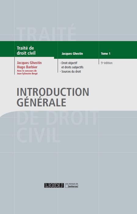 Publication introduction au droit