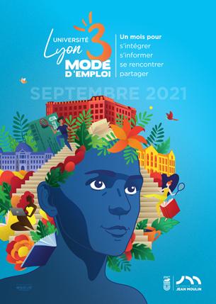 Affiche Lyon 3 mode d'emploi