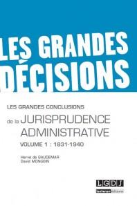 couverture les grandes conclusion de la jurisprudence