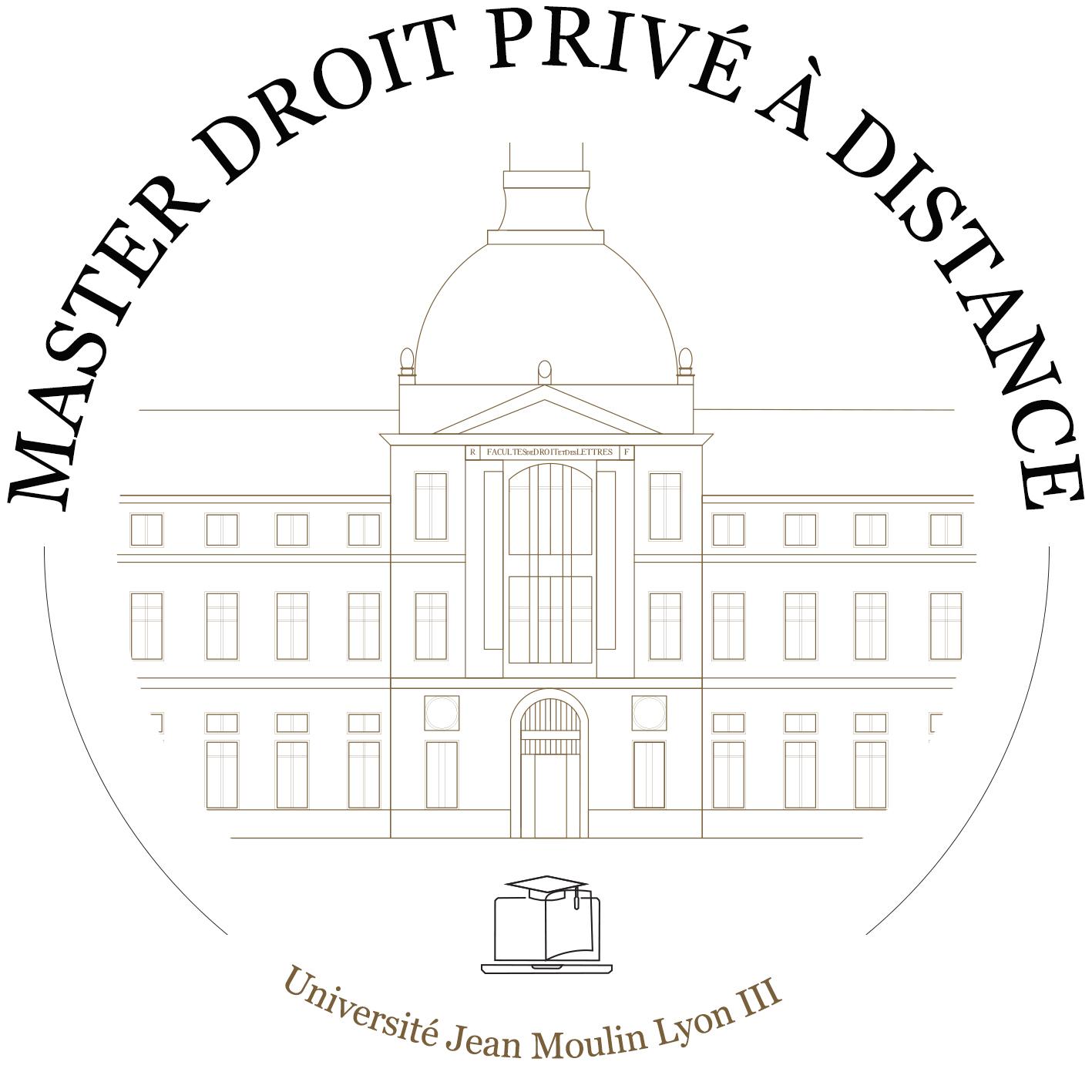 Logo Master droit privé a distance