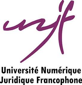 Logo université juridique francophone