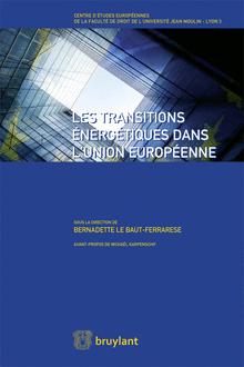 couverture les transitions énergitiques dans l'UE