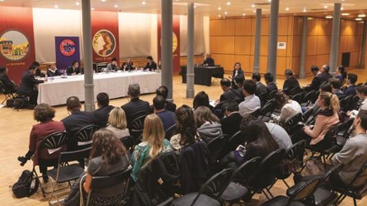 Table ronde Justice française et chinoise-Nuit du droit