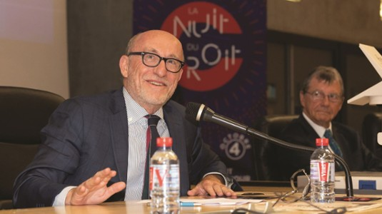 Alain Jakubowicz, avocat et ancien président de la LICRA-Nuit du droit