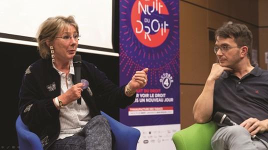 Anne Gruwez, juge d'instruction-Nuit du droit