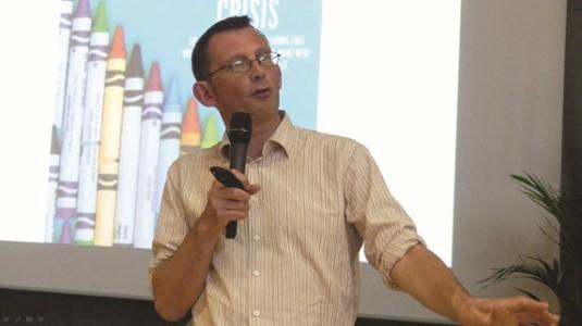 Conférence de Rob Hopkins, enseignant en permaculture