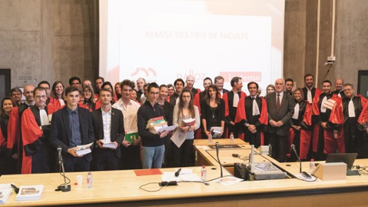 Lauréats des prix de Faculté
