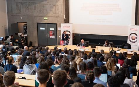 Conférence du président du Conseil constitutionnel de Laurent FABIUS