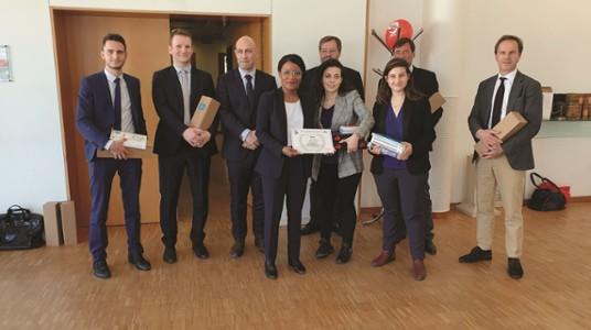 Finalistes du Moot Court Competition