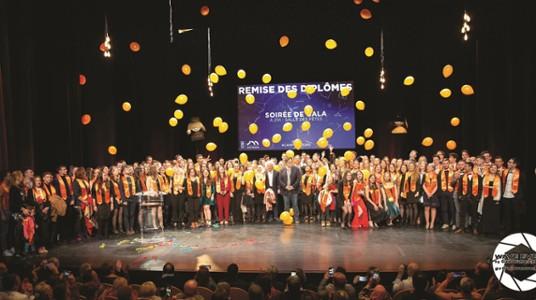 Remise des diplômes sur le campus de Bourg-en-Bresse