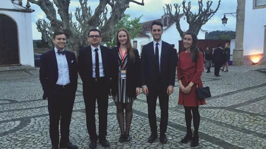 Lauréats étudiants du LL.M au Europa Moot Court