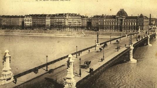 Photo d'archive de la Faculté de droit