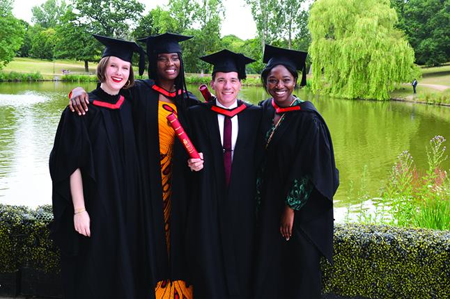 Remise des diplômes Université d'Essex (Royaume-Uni)