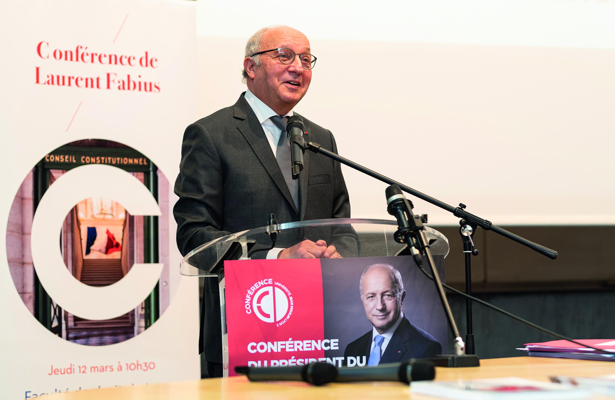 Visite de Laurent FABIUS  -  12 Mars 2020