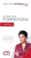 couverture Guide des masters 2016