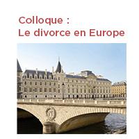 Vignette Colloque le divorce en Europe