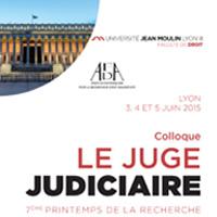 vignette colloque le juge judiciaire