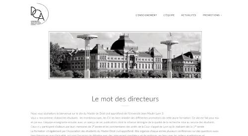 Visuel site web Master droit approfondi